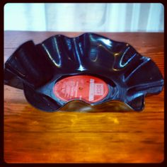 Record bowl #upcycle #ashleigholynnart #record #vinylrecords