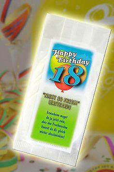 Die Nicht so frech Wattepads zum 18 Geburtstag *Lustig*