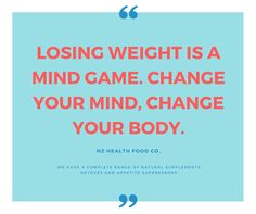 So true! Here at New Zealand Health Food, we are regular people just like you, so we know losing weight can be daunting..,..BUT we also know the outcomes are worth it! Pop in store today or chat with us online at http://www.nzhealthfood.com/health-conditi
