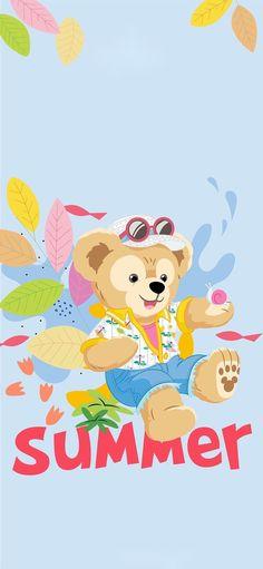 Shanghai Disney Resort, Wallpaper Notebook, Duffy The Disney Bear, Friends Wallpaper, Disneyland, Pikachu, Kawaii, Cartoon, Drawings