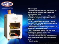 Save electricity save recurring cost. To know more visit us at www.mitticool.in/
