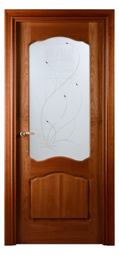 Traditional Style Interior Door with Exotic Sapele Wood Veneer finish. Has decorated frosted glass inlay. Ruby red glass is fused on top. Exterior Doors, Interior And Exterior, Traditional Interior Doors, Doors Online, Classic Architecture, Red Glass, Ceiling Design, Wood Veneer, Old Houses