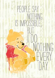 I do nothing every day Art Print by Sara Eshak | Society6 人が @weheartit.com を利用中- http://whrt.it/XcoiDd