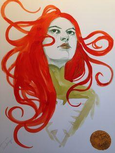 Jean Grey - Phoenix by Stephanie Hans *