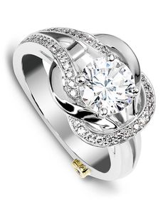 Jubilant Engagement Ring - Mark Schneider Design