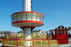 Observation tower, Rhyl Wales took us high above 240 ft