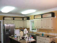Pimping a Kitchen with Add-on Cabinet Toppers | Kitchen ...