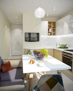 Дизайн проект квартиры двушки в доме серии П-44.