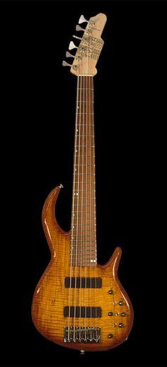 James Tyler Guitars Bass 6str Tobacco Burst Quilt