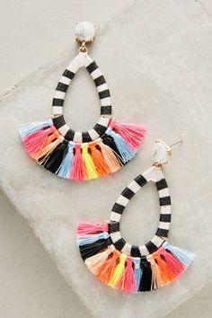 Baublebar Summer Tassel Drop Earrings