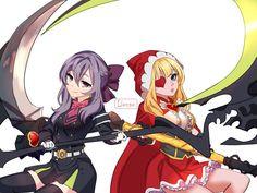 Ruby ML dan Shinoa Hiragi Owari no Seraph by on DeviantArt Anime Neko, Manga Anime, Anime Art, Bang Bang, Ruby Anime, Shinoa Hiiragi, Moba Legends, Legend Games, The Legend Of Heroes