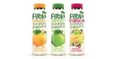 Peela Fruit Juice Packaging Design by Design Happy Strategic Packaging & Branding Design Agency  hello@designhappy.co.uk