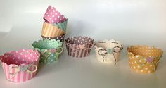 stitched scalloped cupcake wrapper