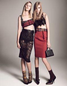 Editorial vogue japan april 2015 Miu Miu Hrisskas Style-1