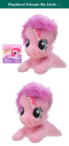 Playskool Friends My Little Pony Pinkie Pie 6-Inch Plush. Every day can bring smiles with adorable friends your little one can snuggle and play with! This sweet, soft, and age-appropriate Pinkie Pie plush is sure to delight your little one. Fun ribbon textures in the pony's hair make for extra-colorful fun. With a mini 6-inch scale, she's a great companion to bring on the go! Playskool Friends, My Little Pony, and all related properties are trademarks of Hasbro.