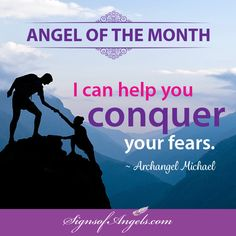 Are you ready to let go of your fears? Archangel Michael can help you.