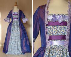 Dernière ligne droite avant Noël! Je vous propose, en exclusivité, des robes de marquises uniques et originales réalisées dans de jolis tissus: coton, lin et taffetas. Ces robes conviennent pour des petites filles de 6 à 10 ans dont la taille est comprise...