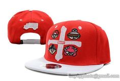 TRUKFIT Cross Snapback Red|only US$8.90,please follow me to pick up couopons.