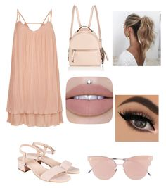 """Perfect natural!"" by tamaguccis on Polyvore featuring Fendi, River Island, So.Ya and Love Couture"
