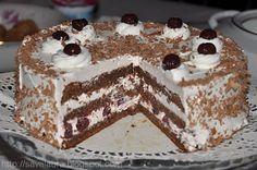 Tort Foret Noire cu visine | Retete culinare cu Laura Sava