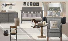 """Little Gentleman Nursery"" — Kelly Demma Interiors Baby Boy Nurseries, Nursery Boy, Nursery Ideas, E Design, Interior Design, Peaceful Home, Little Gentleman, Third Baby, Room"