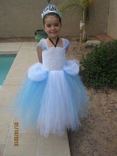 Disney Inspired Tutu Dress...Cinderella $40.00