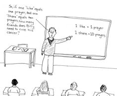 Using Facebook religiosity to teach math...