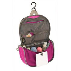 Sea To Summit Travelling Light Hanging Toiletry Bag  Berry Small >>> Read more at the image link.