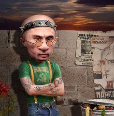 Putin Skinhead