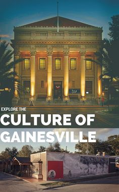 Gainesville Public Murals Your Culture Is Showing - Artists Began Painting The Murals Last Fall Using The Walls In Historic Downtown Gainesville As A Public Art Canvas The Only Place In North Central Florida To Have A Public Mural Or Street Art Displa Family Vacation Destinations, Florida Vacation, Florida Travel, Travel Usa, Travel Tips, Family Vacations, Travel Destinations, Travel Songs, Gainesville Florida