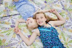 Adorable sister photo!