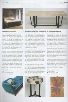 Our #sofabed Cayman and Jeremie, on DETAIL magazine, September issue