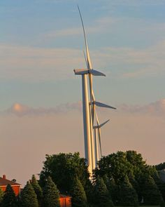 The windturbines of Dufferin County