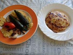 Verdure  grigliate ,piatti   Gino D'Aquino