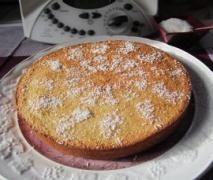 Gâteau léger à la noix de coco