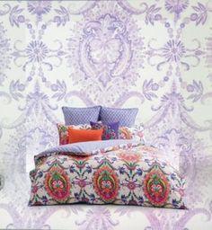 Layla King Quilt Cover Set   Kas New Season Bed Linen – Bedlam