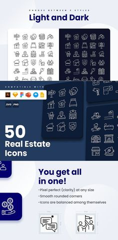 Flyer Design, Icon Design, Real Estate Icons, Resume Layout, Graphic Design Templates, Microsoft Powerpoint, Magazine Template, Brochure Template, Vector Icons