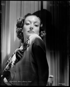 Joan Crawford camera negative  from Chained by George Hurrell