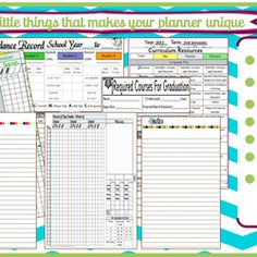 Holy cow.. this planner is amazing, and you print it all yourself!! 180 Page Undated Planner