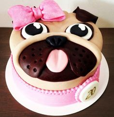 You will love this collection of Pug Cake Ideas and we have included lots of ideas you are going to love. Watch the video instructions too.