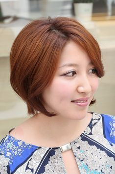 Minus the copper, I like this. Most Popular Low Maintenance Daily Hairstyle for Busy Women: Layered Bob