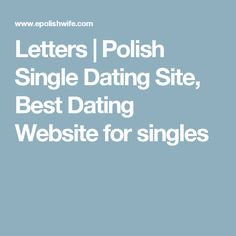 Polish dating websites usa