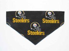 Steelers Football Dog Bandana Dog Costume by CookiesDogHouse