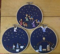 HouzDeco – Interior Design and Home Decor Ideas Christmas Sewing, Christmas Embroidery, Christmas Nativity, Christmas Cross, Felt Christmas, Christmas Holidays, Christmas Decorations, Christmas Ornaments, Nativity Crafts