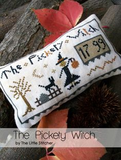 "The Little Stitcher - Freebie - ""The Pickety Witch"""