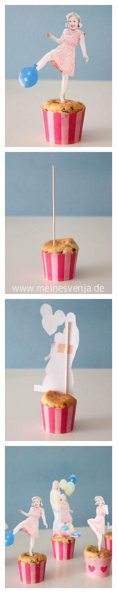 Muffin Toppers aus Fotos basteln.