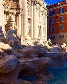 WEBSTA @ cookitalia_ - Trevi Fountain in Rome, the city of echoes, the city of illusions and the city of yearning......#trevifountain #fontanaditrevi #roma #rome #fontanaditreviroma #trevifountainrome #cookitalia_ #visitrome
