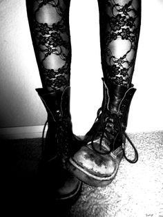 tights on tights on tights. and boots.