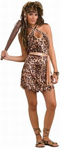Sexy Cavewoman Costume - Standard .  sc 1 st  Pinterest & Jungle Heat Costume - The three-piece Jungle Heat costume includes ...