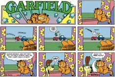 Garfield Classics by Jim Davis for Thu 14 May 2020 Garfield Quotes, Garfield And Odie, Garfield Comics, Hagar The Horrible, Jim Davis, Classic Comics, Calvin And Hobbes, Tarzan, Comic Strips